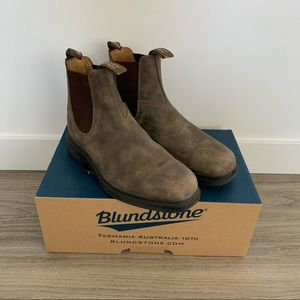 Blundstone 1306 Chisel Toe Boots Rustic Brown